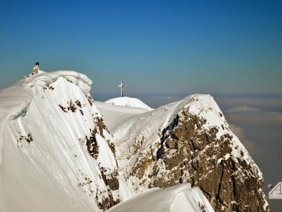 Auf dem Untersberg in Österreich