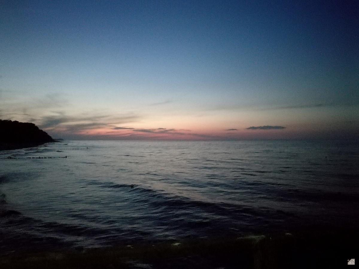 Abendstimmung Seebrücke Bansin