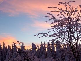 100_8534 Sonnenuntergang im Schnee.JPG